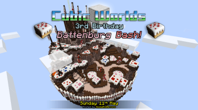 Birthday Battenburg Bash - Sunday 11th May