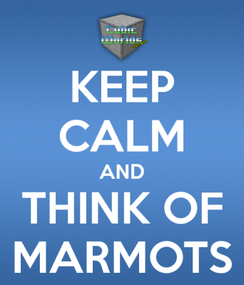CW is still alive! Keep calm and think of marmots...
