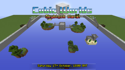 Skyblock Wars - Saturday 17th October, 18:00 GMT